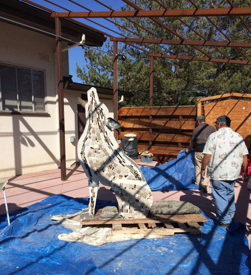 Coyote 2015 Sculpture Jam project